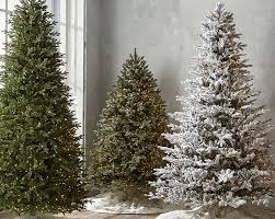 Balsam Christmas Tree Australia by Artificial Christmas Trees Pre Lit Christmas Trees Frontgate