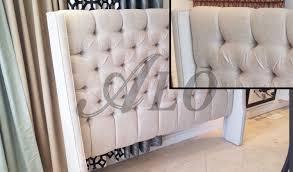 Wayfair White King Headboard by Furniture King Size Tufted Headboard Tall Tufted Headboard