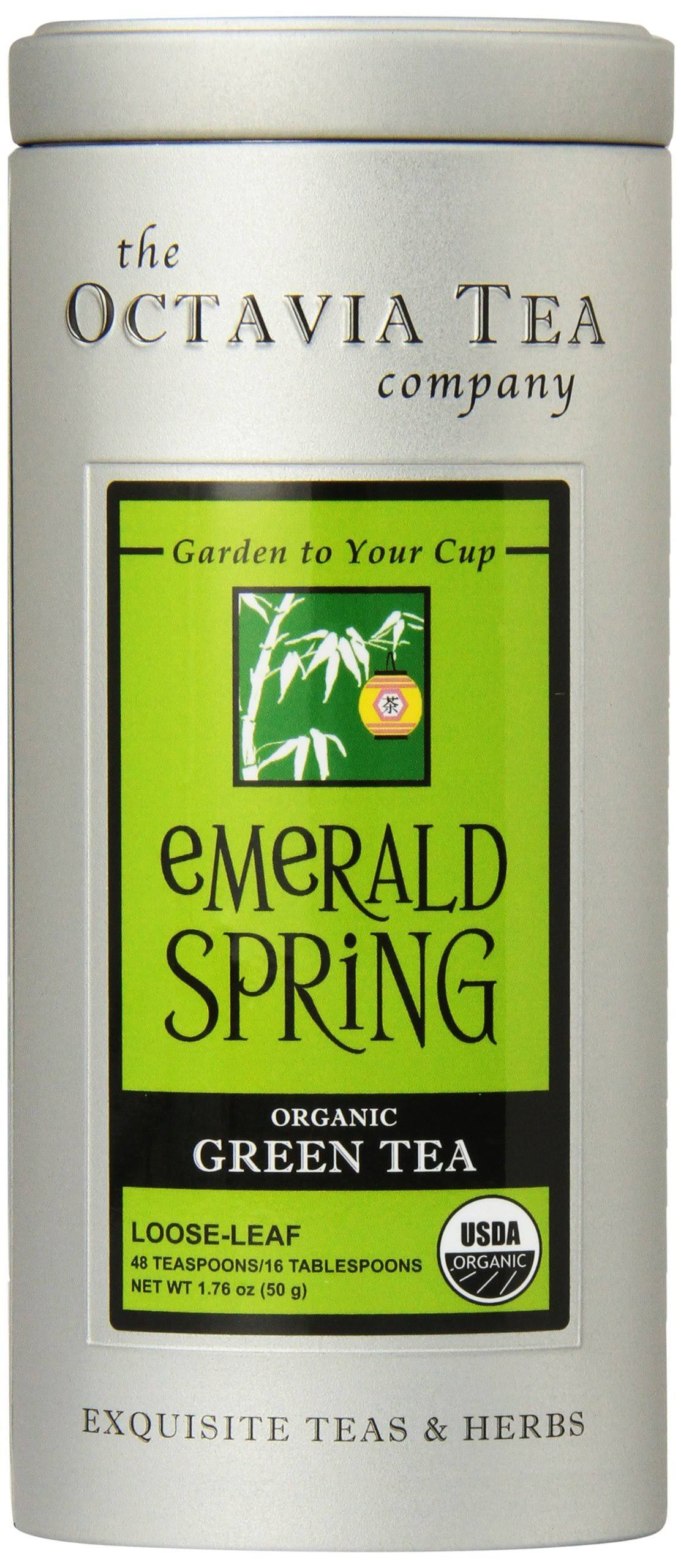 Octavia Tea Emerald Spring (Organic Green Tea) Loose
