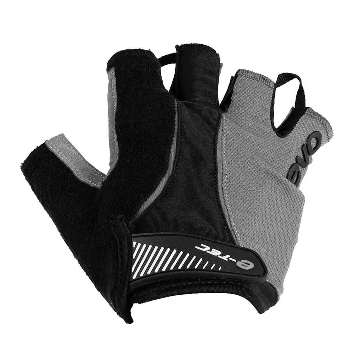 Evo E-tec Attack Pro Gel Gloves - Black/Gray, Medium