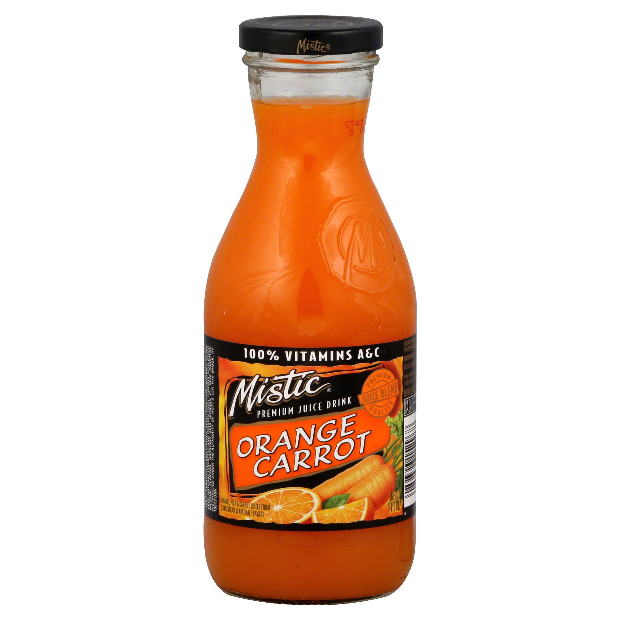 Mistic Juice Drink - Orange Carrot, 16oz