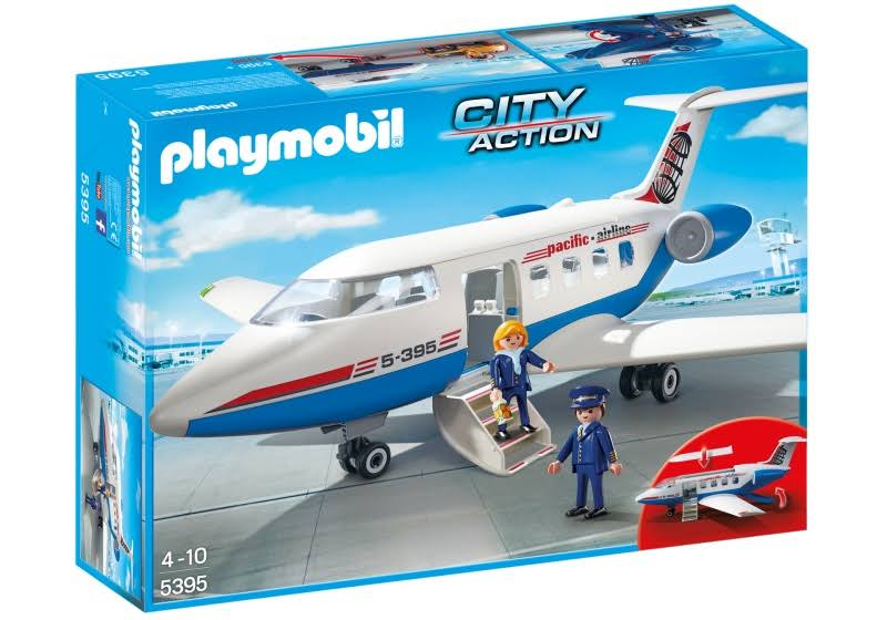 Playmobil City Action Passenger Plane Set