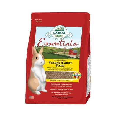 Oxbow Bunny Basics Young Rabbit Food - 5lbs