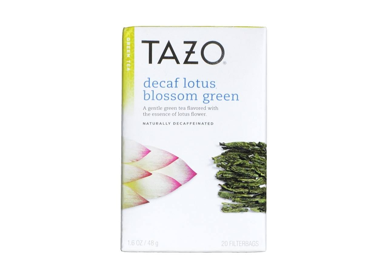 Tazo Zen Green Tea - Lemongrass & Spearmint, 20 Tea Bags