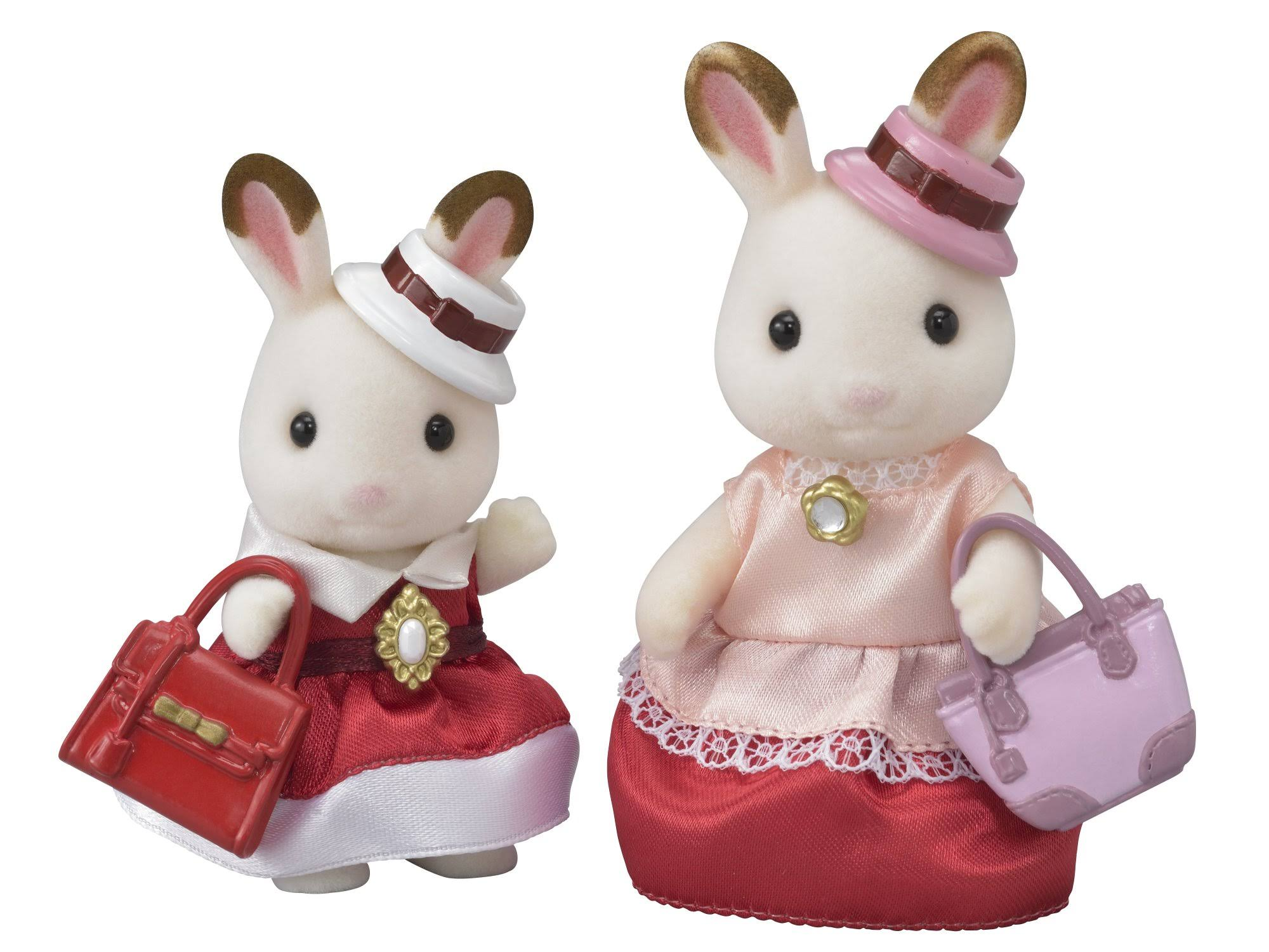 Calico Critters Town Series: Dress Up Duo Set