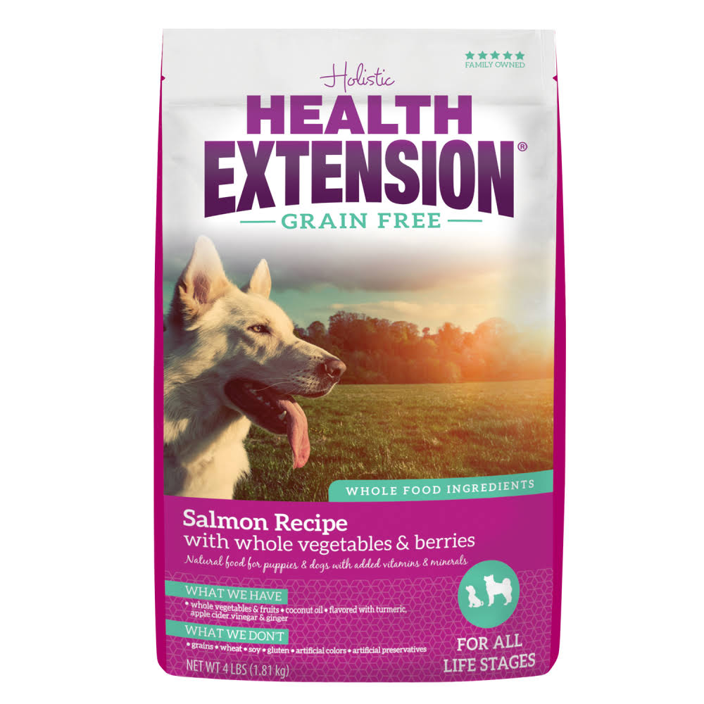 Health Extension Grain Free Herring and Chickpea Pet Food Formula - 23.5lb, Salmon