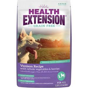 Health Extension Grain Free Venison Recipe Dry Dog Food, 1-Pound