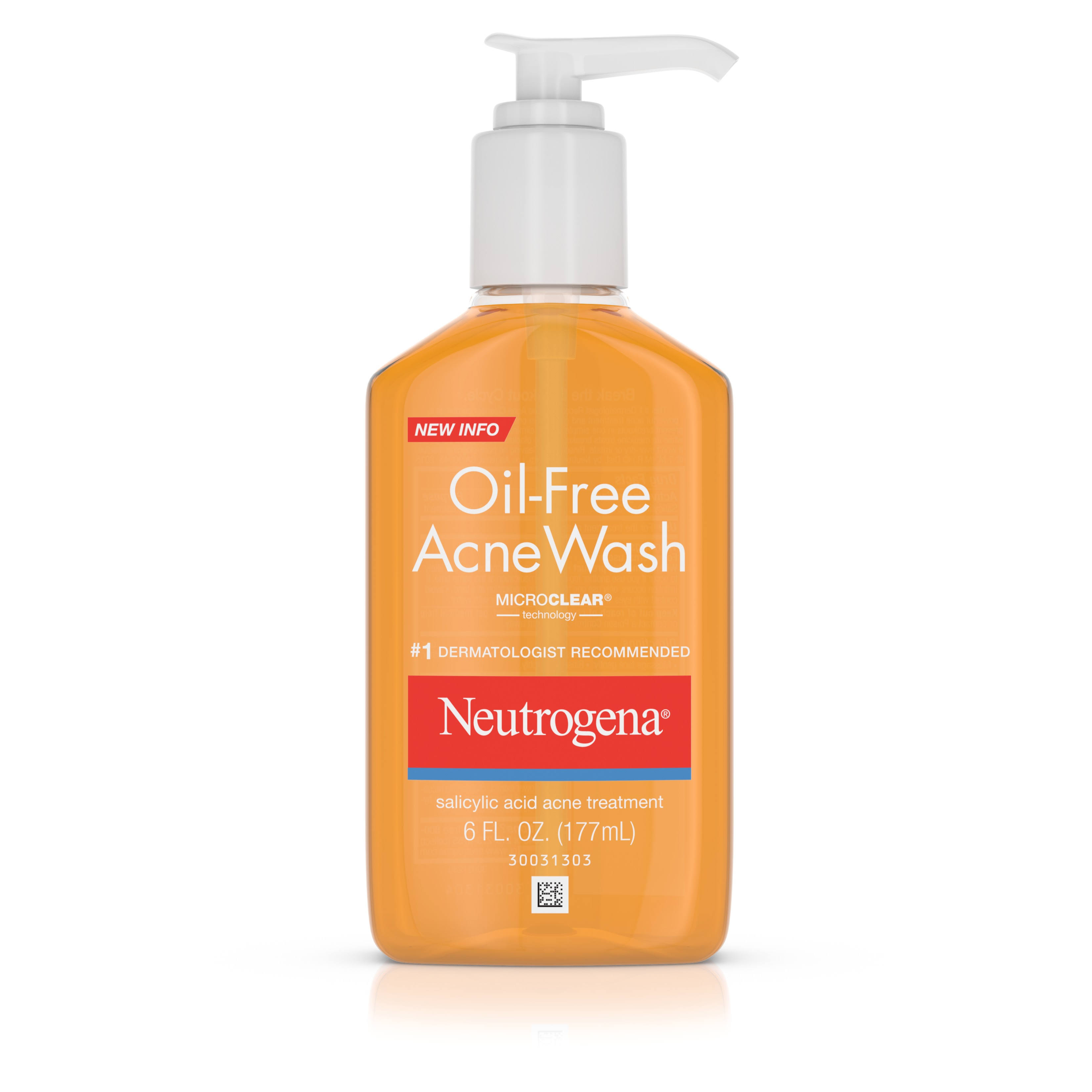 Neutrogena Oil - Acne Wash - 6 fl oz