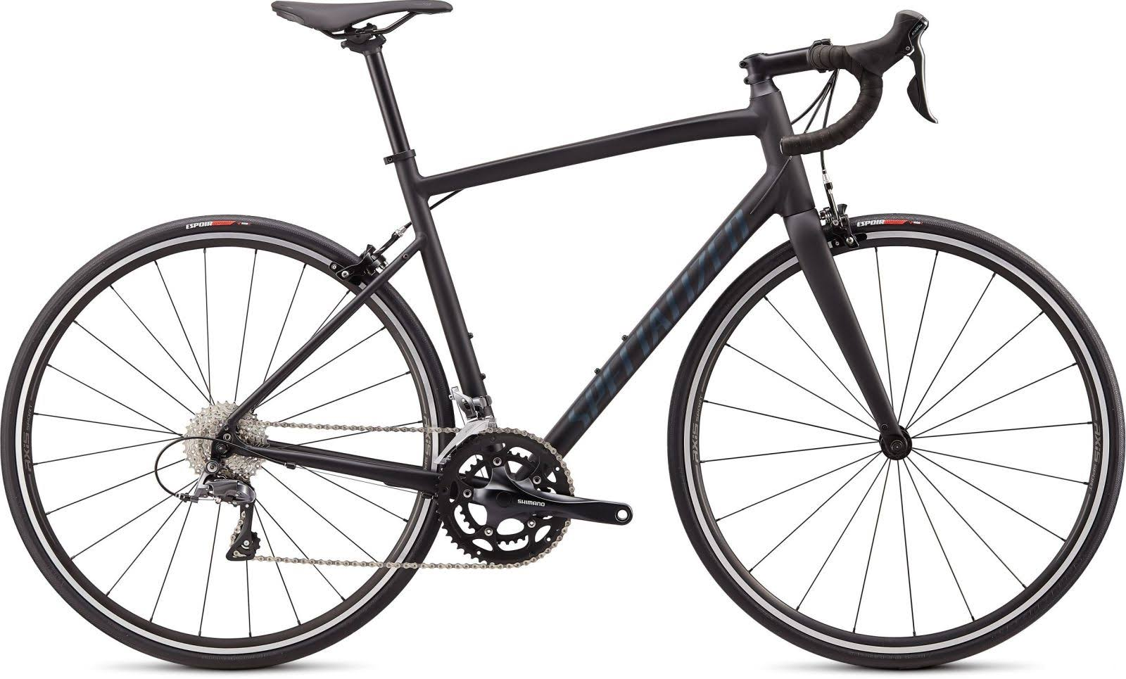 Specialized Allez Satin Black/Cast Battleship Clean / 61
