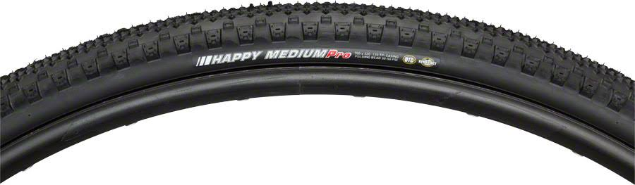 Kenda Happy Medium Pro Tire - 700c x 32c, Folding Black