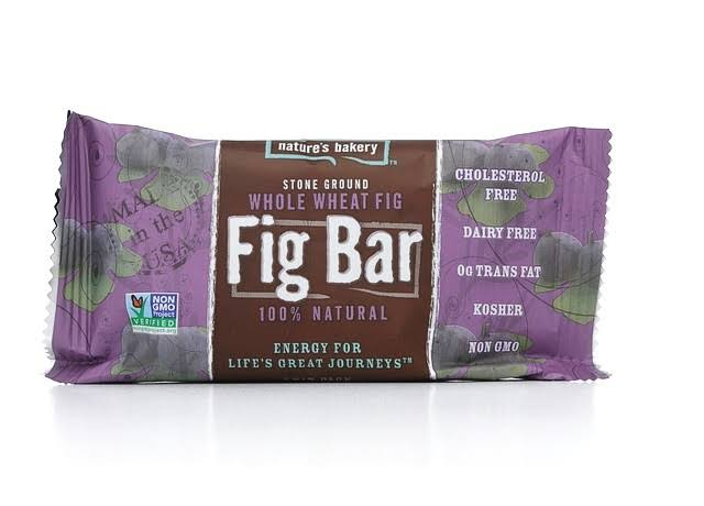 Nature's Bakery Whole Wheat Fig Bars - Blueberry, 2oz x 12