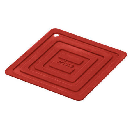 Lodge Silicone Square Pot Holder - Red