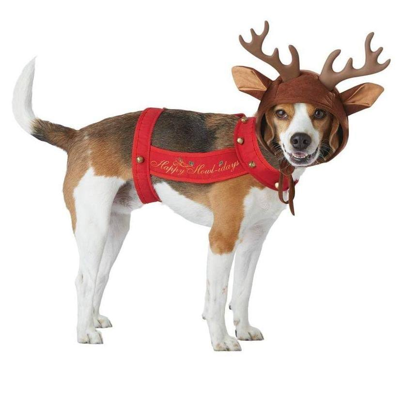 Reindeer Dog Pet Costume