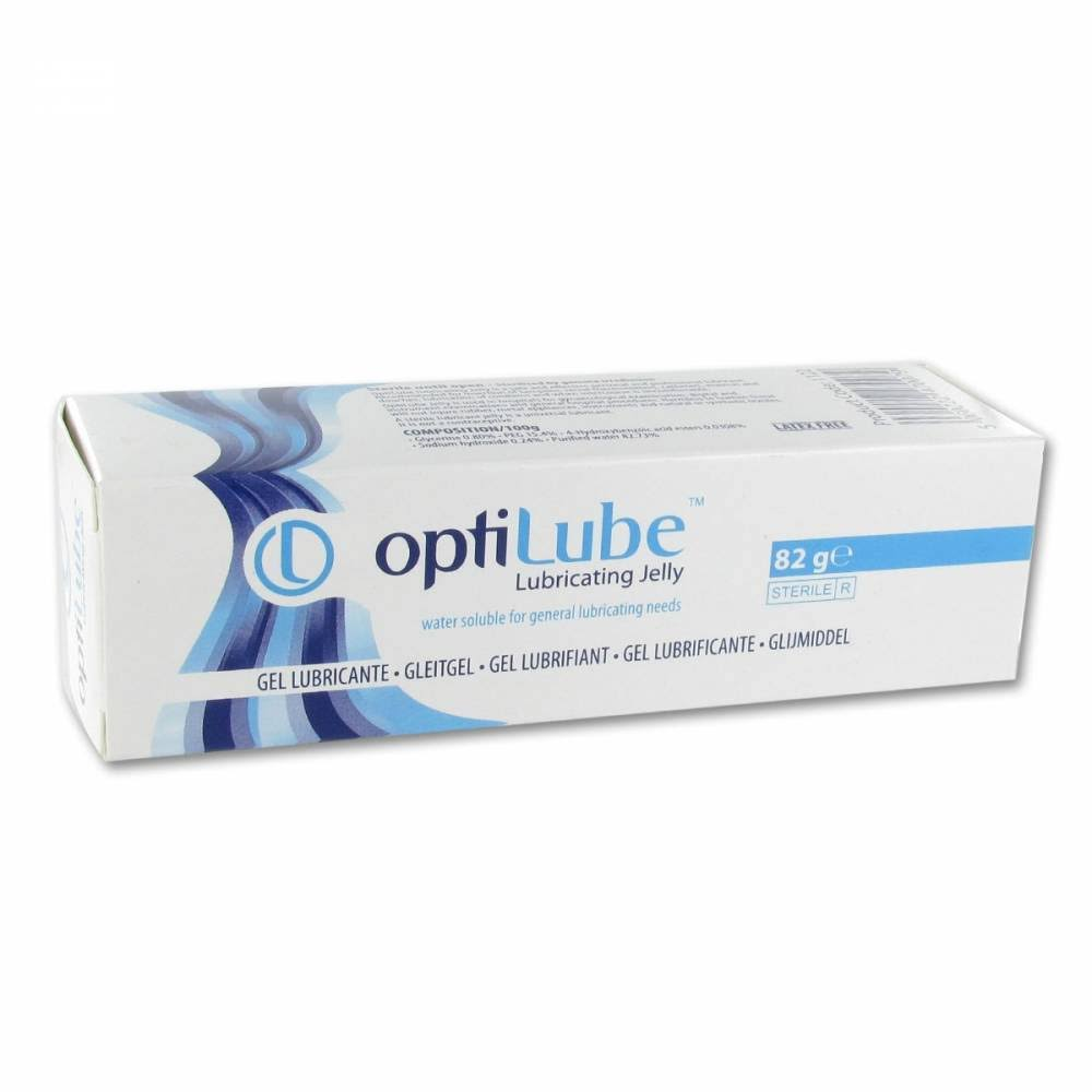 Optilube Sterile Lubricant Jelly 82g