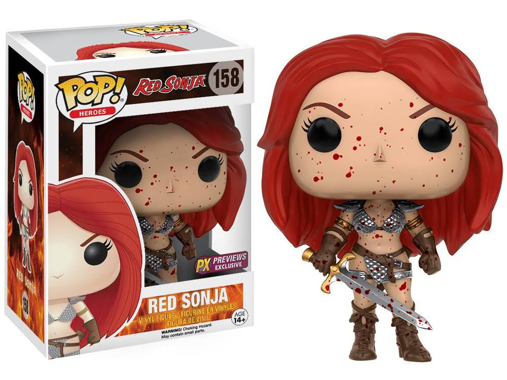 Funko Pop Vinyl Figures - Red Sonja Bloody Version