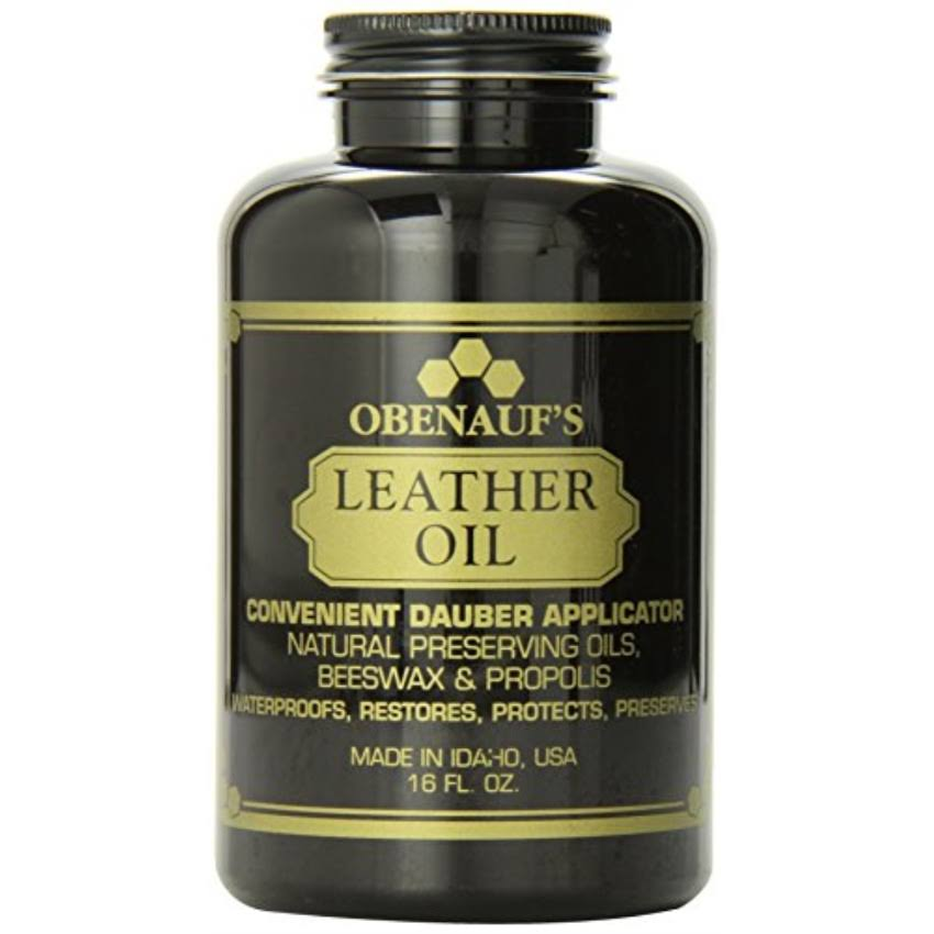 Obenauf's Leather Oil - 16oz