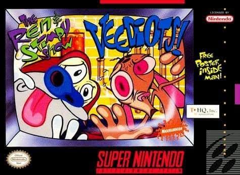 Ren and Stimpy Show Veediots - Super Nintendo