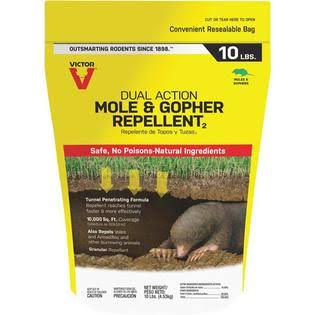 Victor Mole & Gopher Animal Repellent - 10lbs