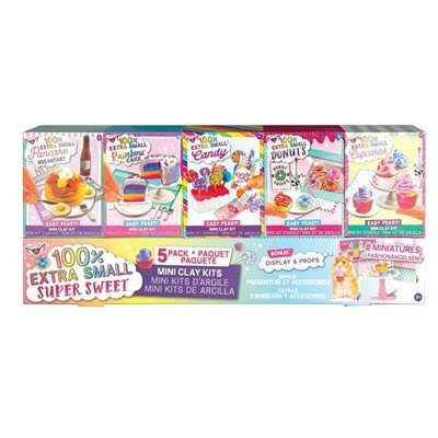 Fashion Angels 100% Extra Small Candy Mini Clay Kit