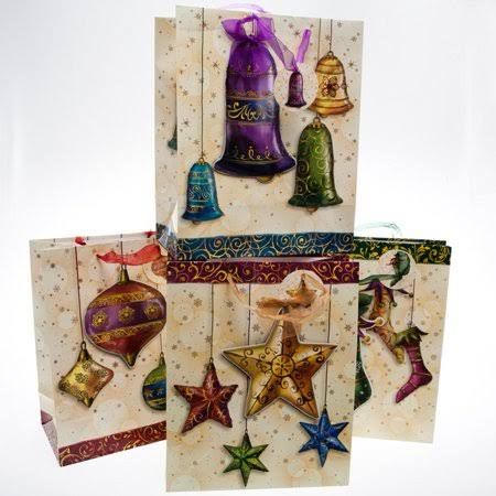 Large Holiday Decorations Gift Bags *Discontinued
