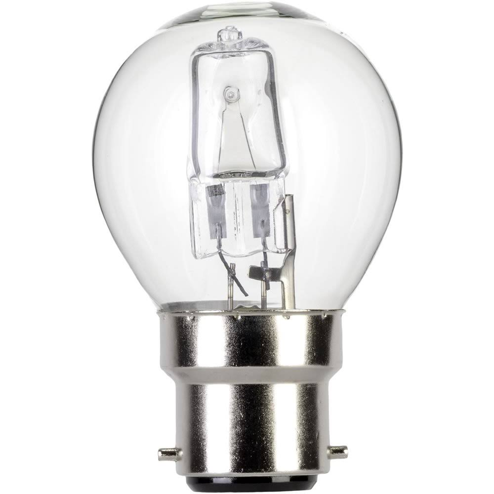Eveready Eco Halogen - Golf B22, 60W, Warm White