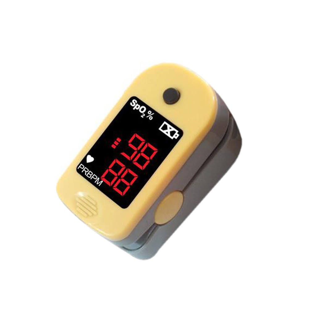 Nova Pulse Oximeter For Finger Tip - Yellow