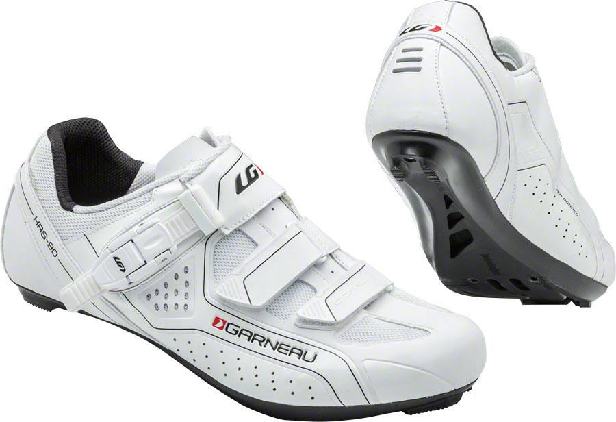 Louis Garneau Men's Copal Cycling Shoes (White, 45)