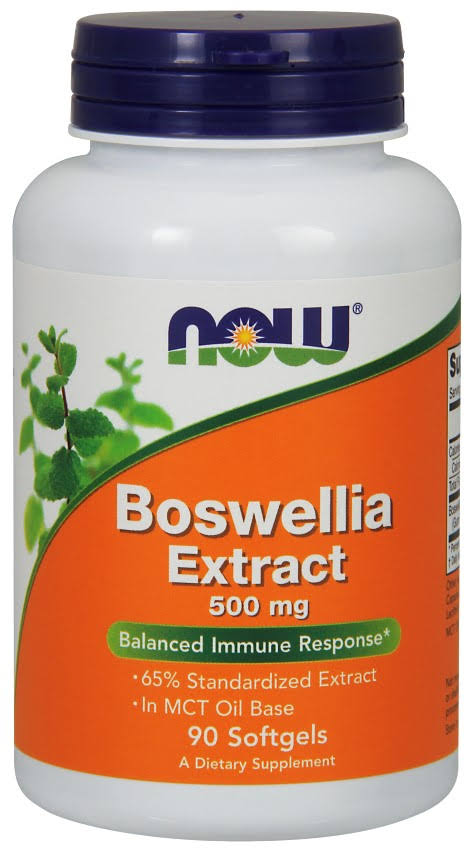 Now Foods Boswellia Extract Supplement - 90 Softgels