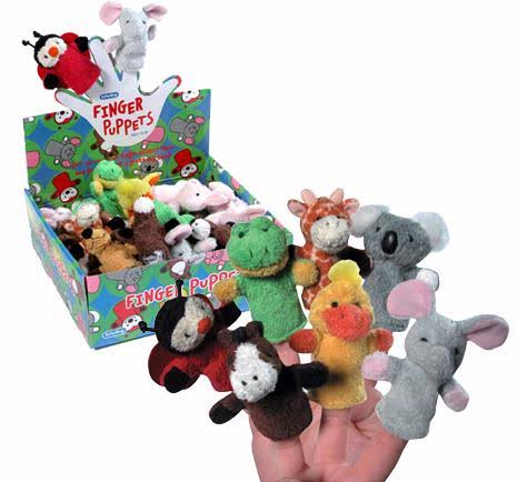 Schylling Plush Finger Puppets