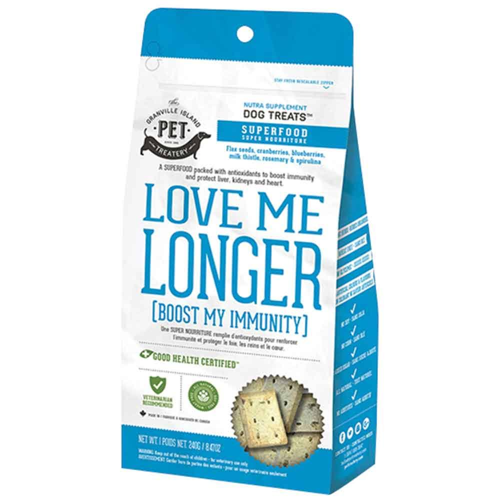 Love Me Longer - Boost My Immunity Dog Treats - 8.47oz