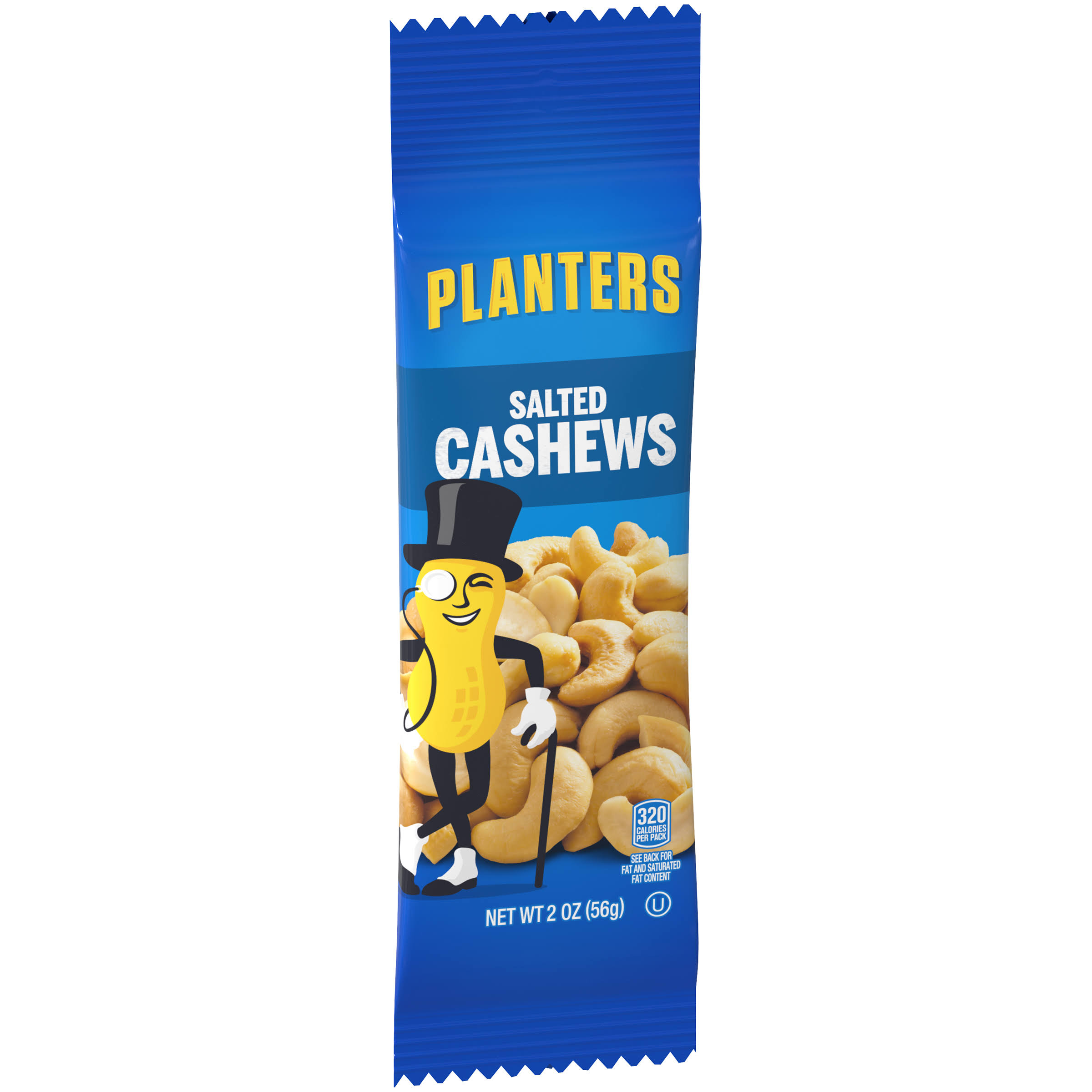 Planters Salted Cashew Nuts - 2oz