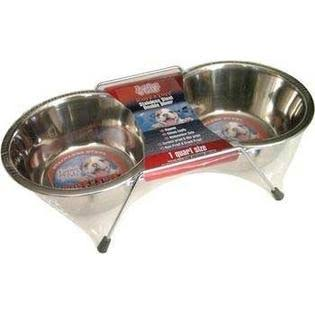 Loving Pets Double Diner Dog Bowl