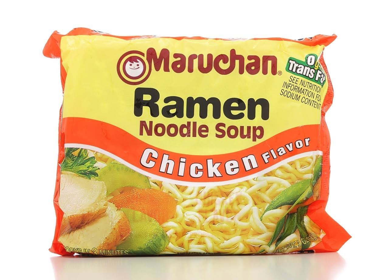 Maruchan Ramen Noodle Soup - Chicken, 3oz