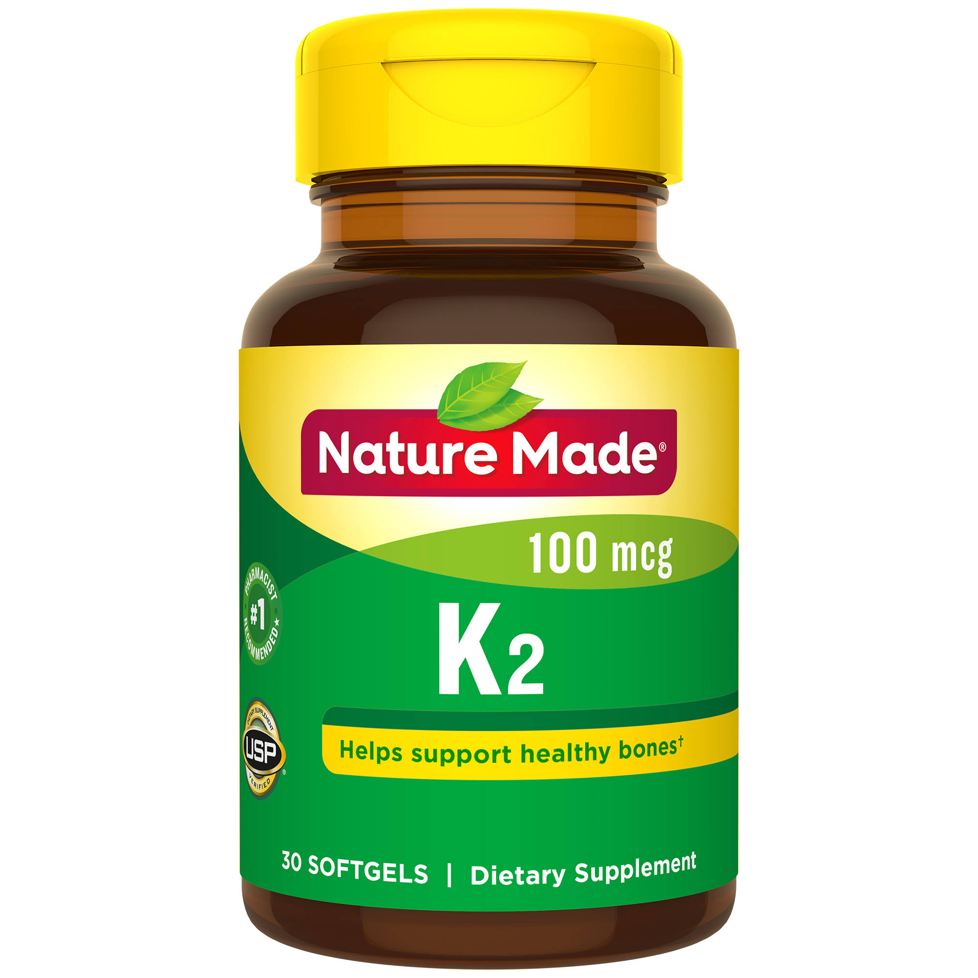 Nature Made Vitamin K2 Dietary Supplement - 30ct