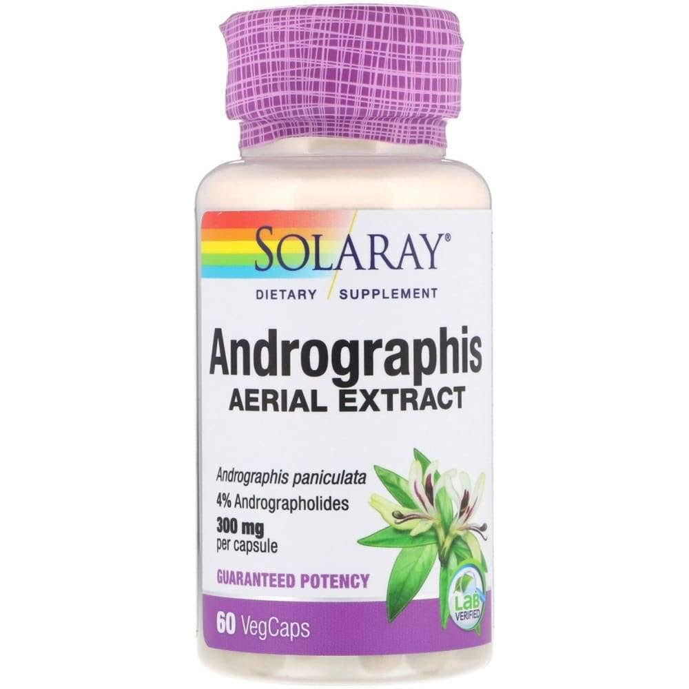 Solaray Andrographis Supplement - 300mg, 60ct