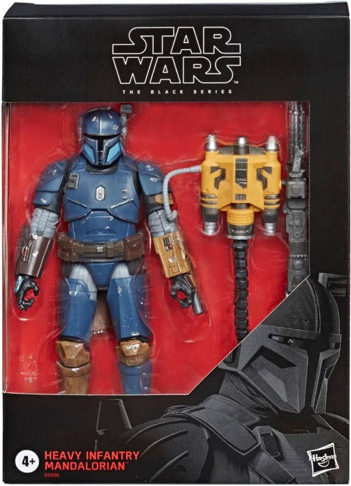 Star Wars The Black Series Heavy Infantry Mandalorian Deluxe Action Figure - 6""