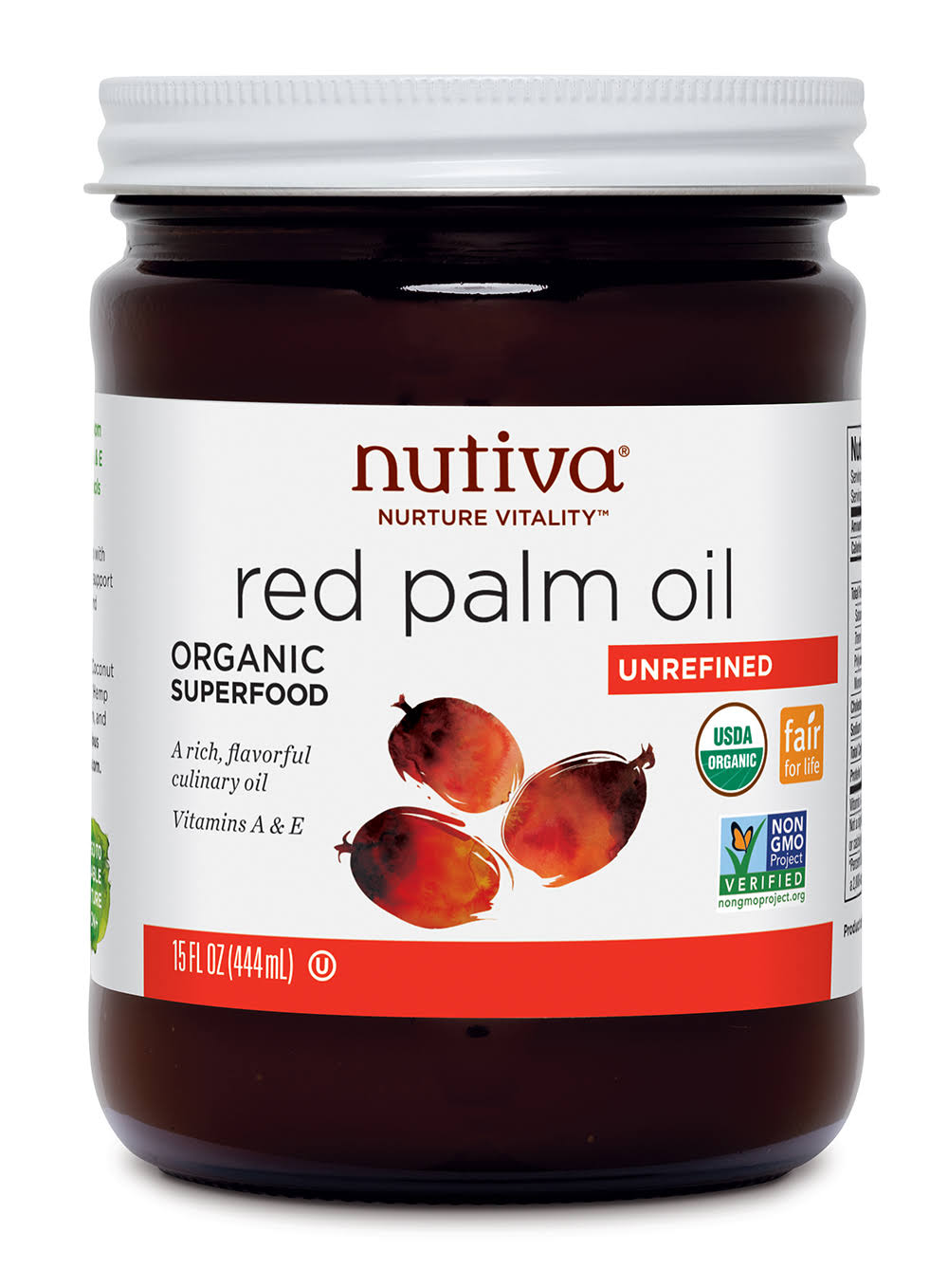 Nutiva Oil - Red Palm, 444ml