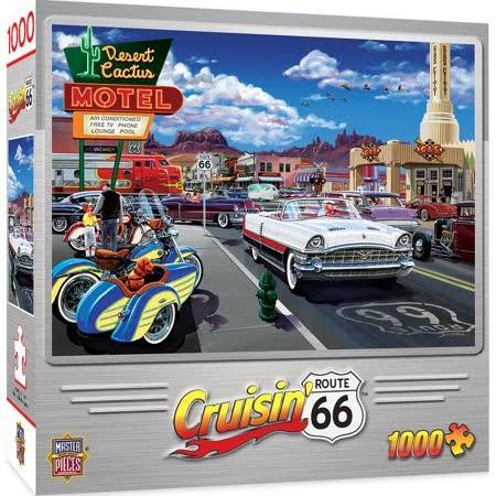 Masterpieces Drive Through on Route 66 1000 Piece Puzzle