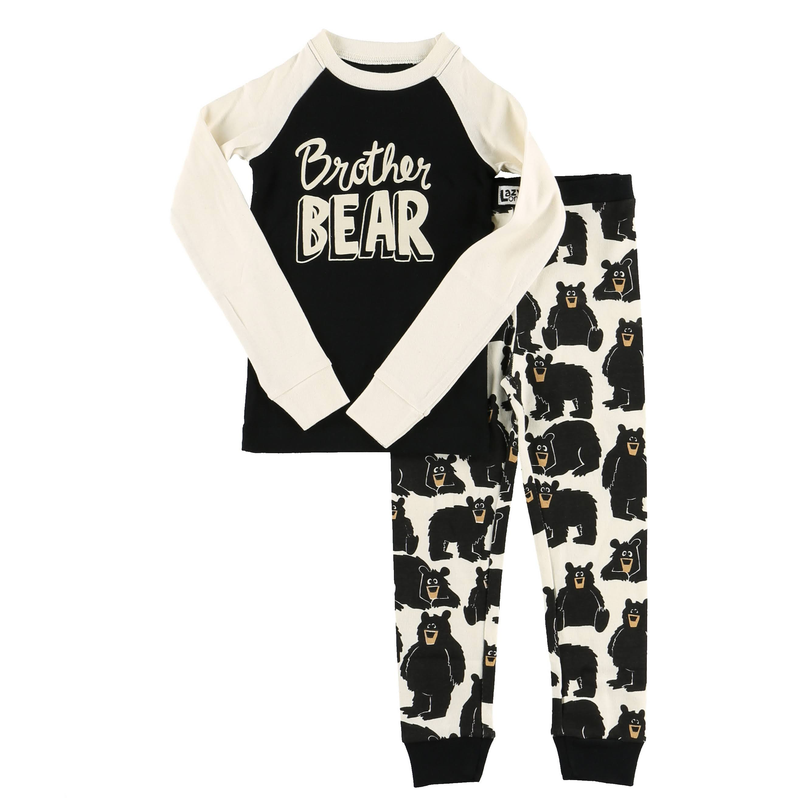 Lazy One Brother Bear Long Sleeve PJ Set