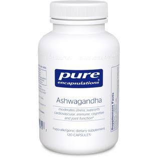 Pure Encapsulations Ashwagandha Dietary Supplement - 120ct