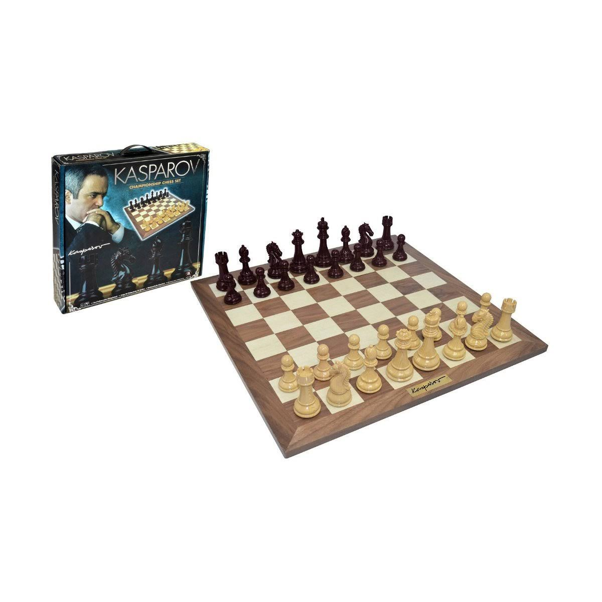 Kasparov Championship Chess Set Game
