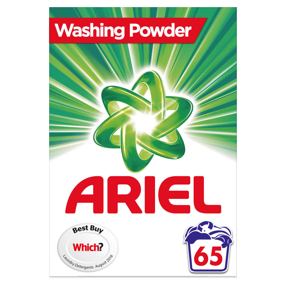 Ariel Washing Powder - Original, 65 Washes, 4.225kg