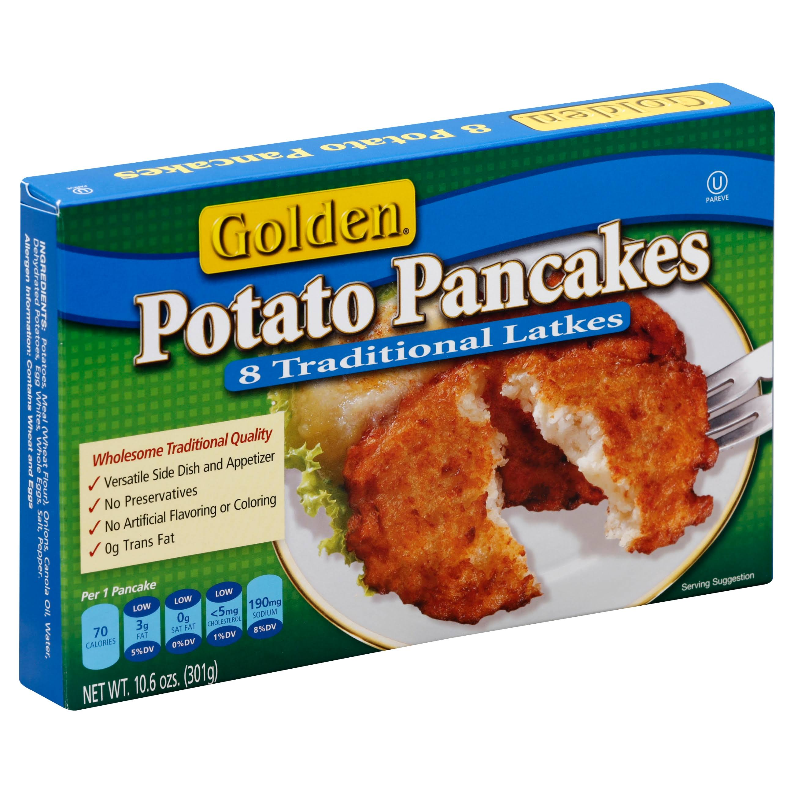 Golden Original Potato Pancake - 10.6oz