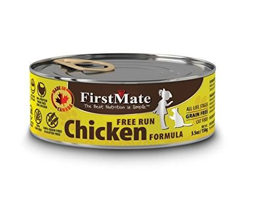 FirstMate Chicken Grain Free Canned Cat Food 5.5oz Can