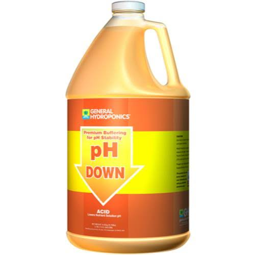 General Hydroponics pH Down Liquid Fertilizer - 1Gallon