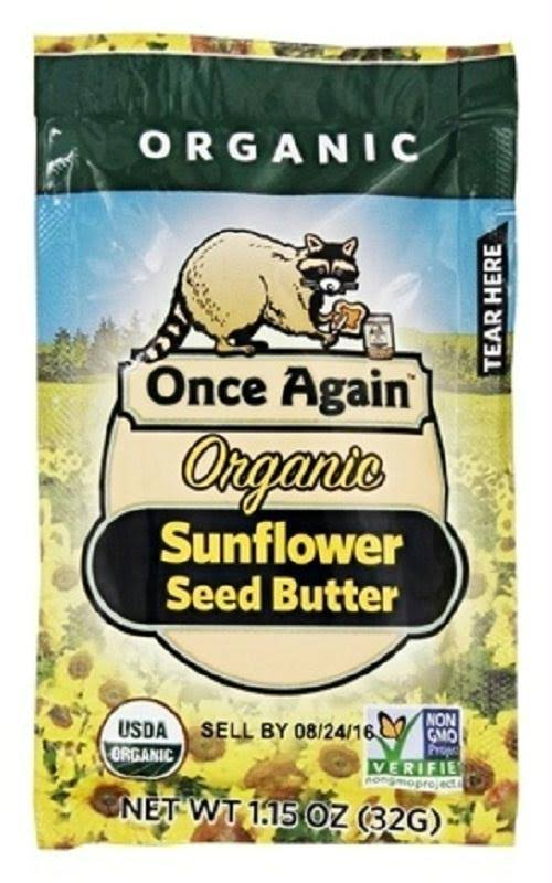Once Again Organic Sunflower Seed Butter - 1.15oz