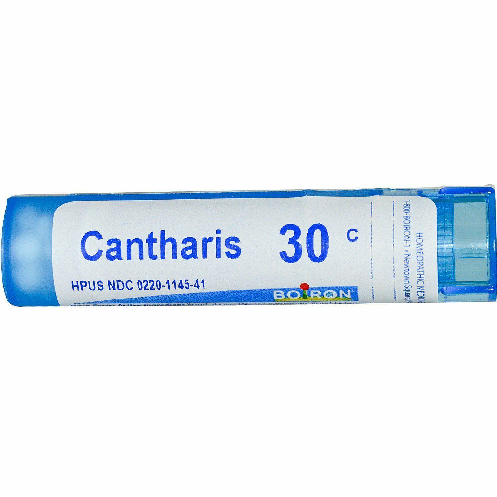 Boiron Cantharis 30C Homeopathic Medicine - 80 Pellets