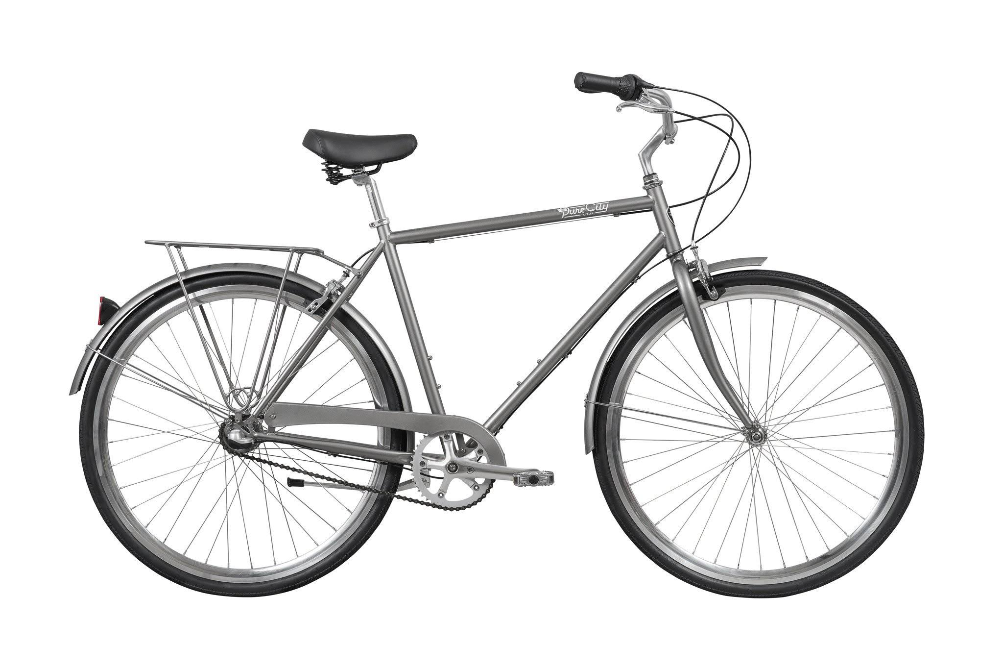 Pure Fix Cycles Upton 3 Speed City Classic Bike 2019 - Grey - M
