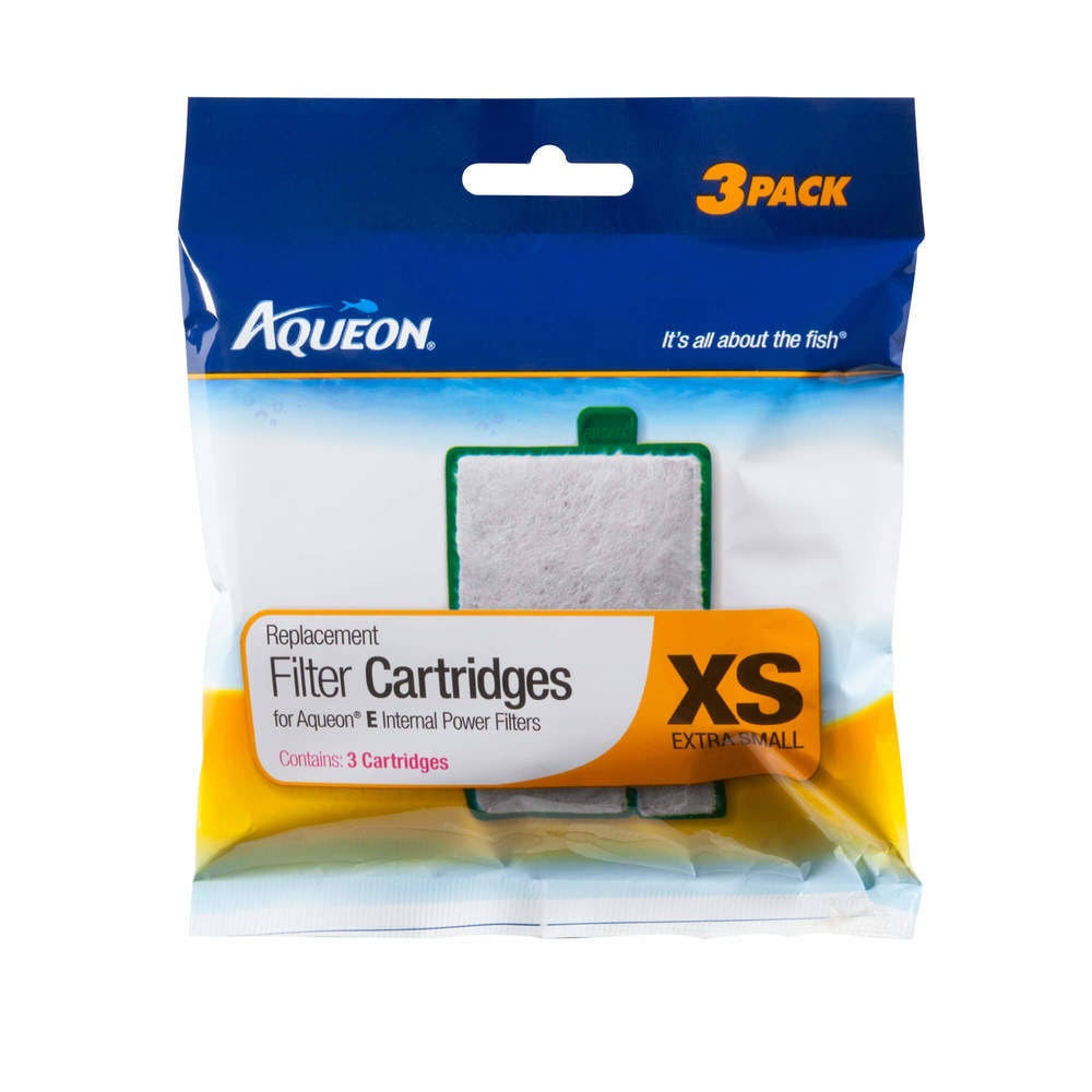 Aqueon Filter Cartridges - XS, 3pcs