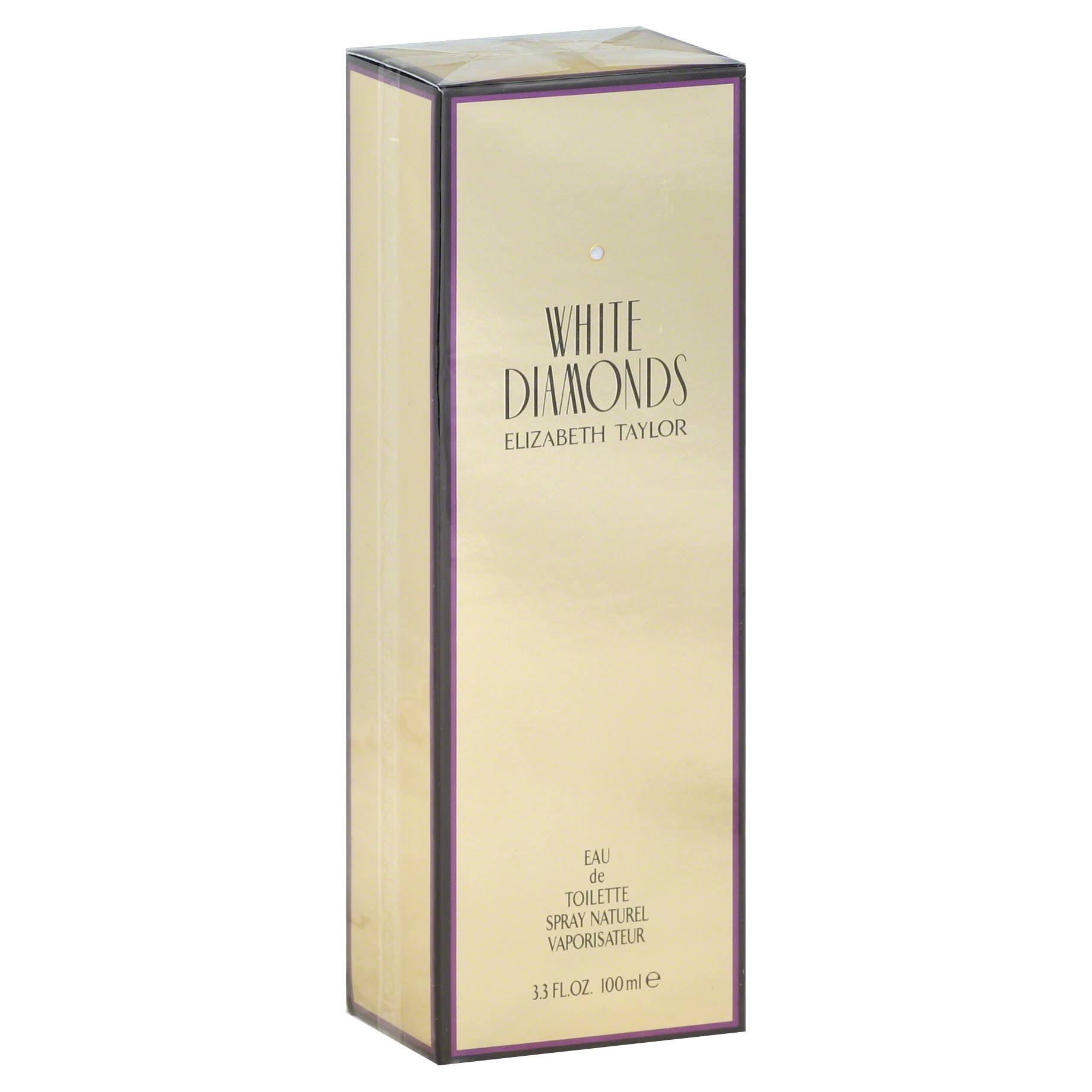 Elizabeth Taylor White Diamonds for Women Eau De Toilette Spray - 100ml